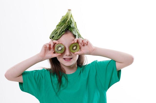 Alimentazione vegana nei bambini
