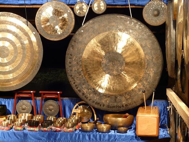 gong e bagno di suoni
