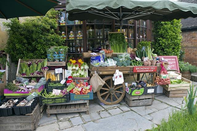 mercati contadini e dieta vegana