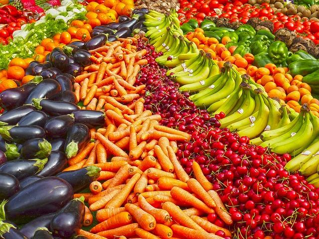 frutta e verdura contro le allergie
