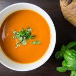Zuppa vegana depurante di zucca e zenzero