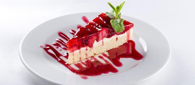 torta vegana di fragole