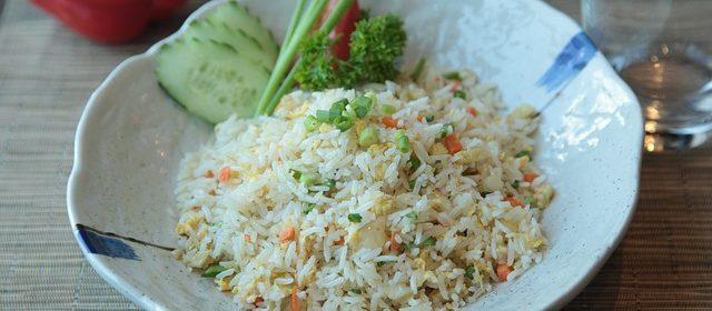 riso alla cantonese vegano